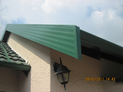 Seamless Gutters Roof Spray Barge Boards Fascias