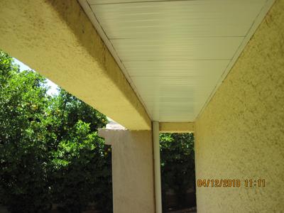 Outdoor Fascia Ceilings