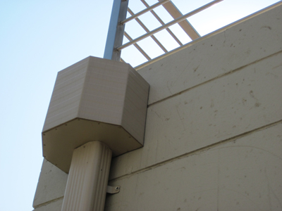 Hopper Boxes For Rain Water Gutter Systems