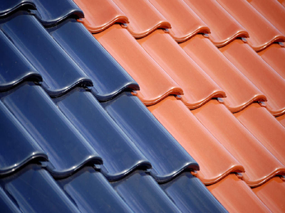 Tin and tiled roof paint colours.