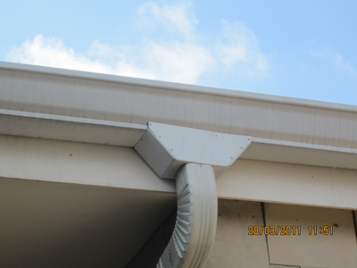 Funnels For Rain Water Gutter Systems